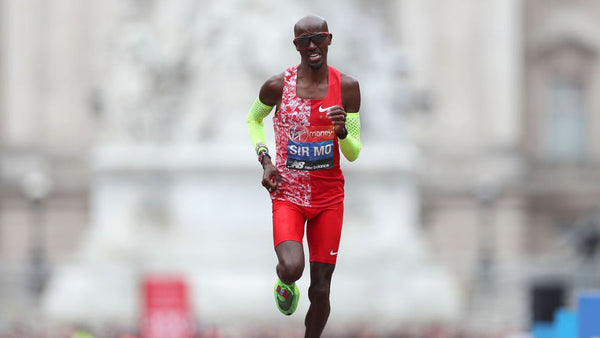 Sir Mo Farah finishes 5th behind Eliud and the Ethopians.