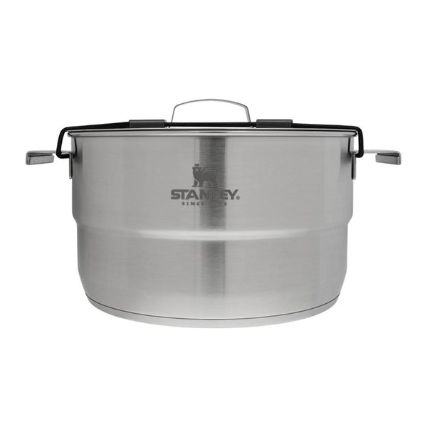 Stanley Adventure Even-Heat Camp Pro Cook Set - 4.75 QT (Stainless Steel)-Cookware-Stanley-Malaysia-Singapore-Australia-Hong Kong-Philippines-Indonesia-Bigbigplace.com