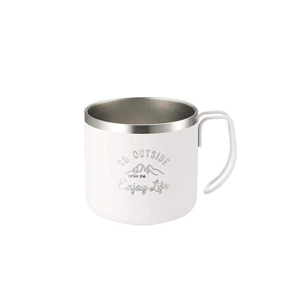 Captain Stag Double Wall Stainless Steel Mug-Mugs-Captain Stag-Malaysia-Singapore-Australia-Hong Kong-Philippines-Indonesia-Bigbigplace.com