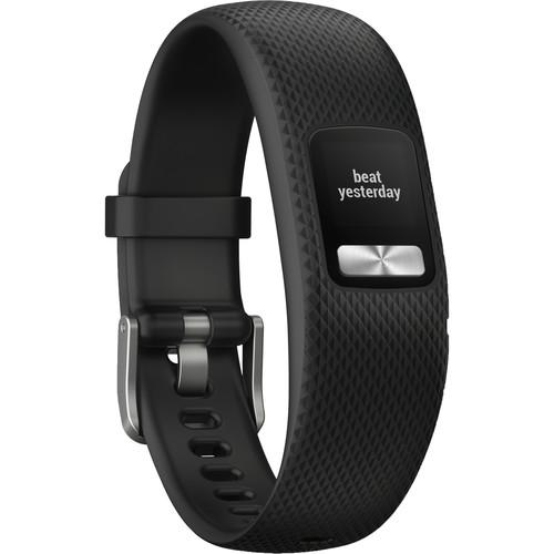 Garmin Vivofit 4 Activity Tracker (Black)-GPS Watch-Garmin-Malaysia-Singapore-Australia-Hong Kong-Philippines-Indonesia-Bigbigplace.com