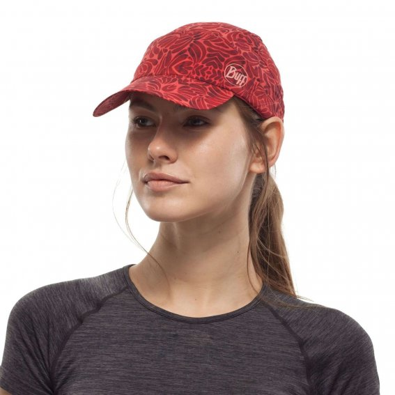 BUFF Pack Trekking Cap - Calyx Grenadine-Running Cap-Buff-Malaysia-Singapore-Australia-Hong Kong-Philippines-Indonesia-Bigbigplace.com