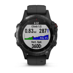 Garmin fenix 5 Plus Sapphire GPS Watch (DLC Carbon Gray/Black Band)-GPS Watch-Garmin-Malaysia-Singapore-Australia-Hong Kong-Philippines-Indonesia-Bigbigplace.com