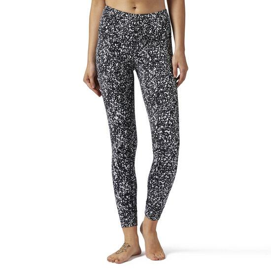 Reebok High Rise Lux Bold Legging-Spekle (Black)-Bigbigplace.com-Malaysia-Singapore-Australia-Hong Kong-Philippines-Indonesia-Bigbigplace.com