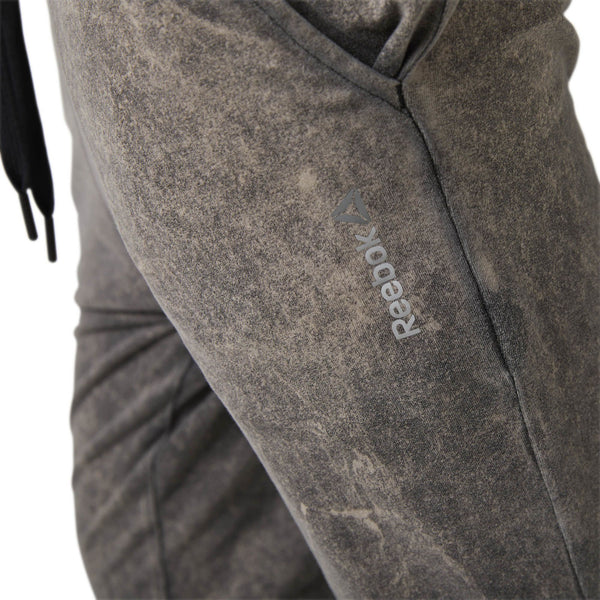 Reebok Washed Jersey Pant (Black)-Bigbigplace.com-Malaysia-Singapore-Australia-Hong Kong-Philippines-Indonesia-Bigbigplace.com