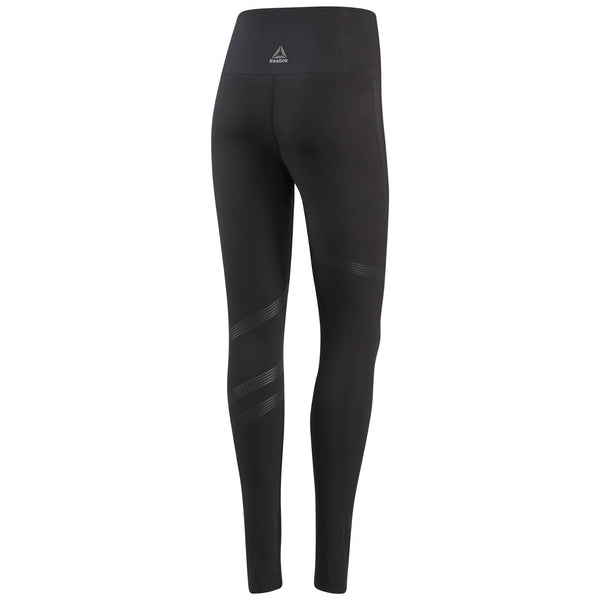 Reebok Women's Linear High Rise Tight (Black)-Bigbigplace.com-Malaysia-Singapore-Australia-Hong Kong-Philippines-Indonesia-Bigbigplace.com