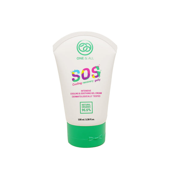 One & All S.O.S. Cooling Recovery Gelly-Body Wash-One & All-Malaysia-Singapore-Australia-Hong Kong-Philippines-Indonesia-Bigbigplace.com