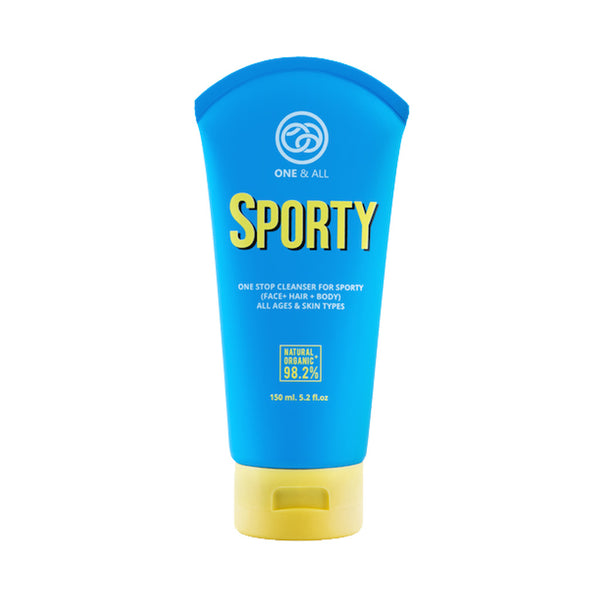 One & All Sporty One Stop Cleanser-Body Wash-One & All-Malaysia-Singapore-Australia-Hong Kong-Philippines-Indonesia-Bigbigplace.com