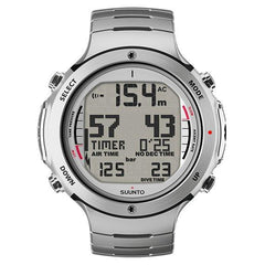 Suunto D6i Stainless Steel Dive Computer (Silver)-Dive Computer-Suunto-Malaysia-Singapore-Australia-Hong Kong-Philippines-Indonesia-Bigbigplace.com