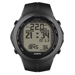 Suunto DX Elastomer Dive Computer (Black)-Dive Computer-Suunto-Malaysia-Singapore-Australia-Hong Kong-Philippines-Indonesia-Bigbigplace.com