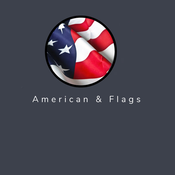 American & Flags