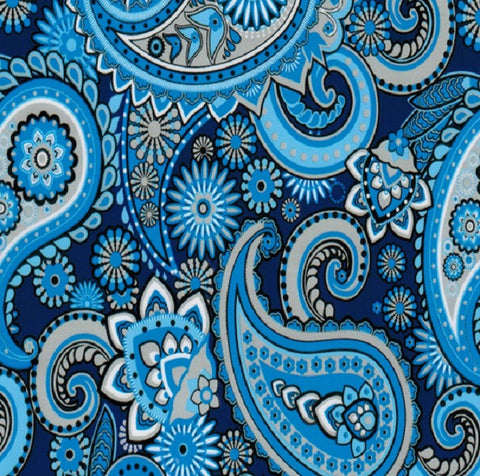 BLUE FLOWER PATTERN