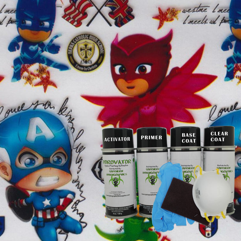 Tiny Heroes Dip Kit