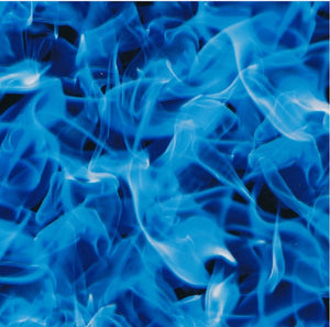 EXTREME BLUE FLAMES