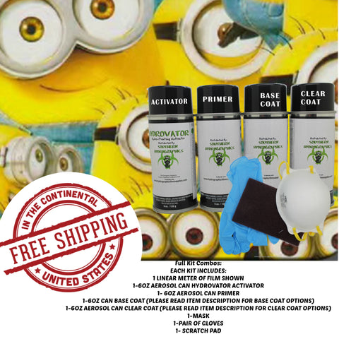 YELLOW MINIONS XXL DIP KIT