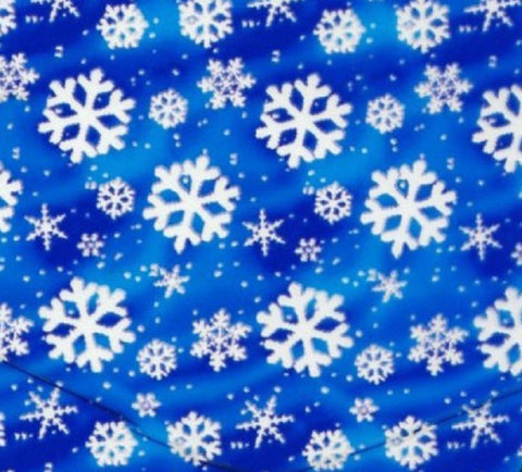 BLUE SNOW FLAKE