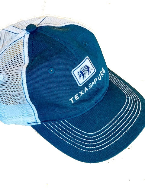 Navy Texas Trucker Hat