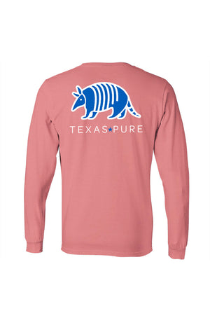 Blue Armadillo Long Sleeve - Girls