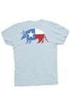 Lone Star Armadillo Tee from TexasPure - Back