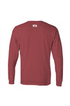 College Station Collegiate Tee - Maroon Long Sleeve