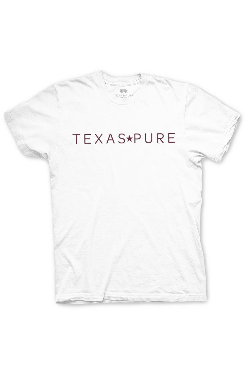 College Station Collegiate Tee - Texas T-Shirt from Texas Pure