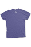 Fort Worth Collegiate Texas Tee - Purple and White - Back