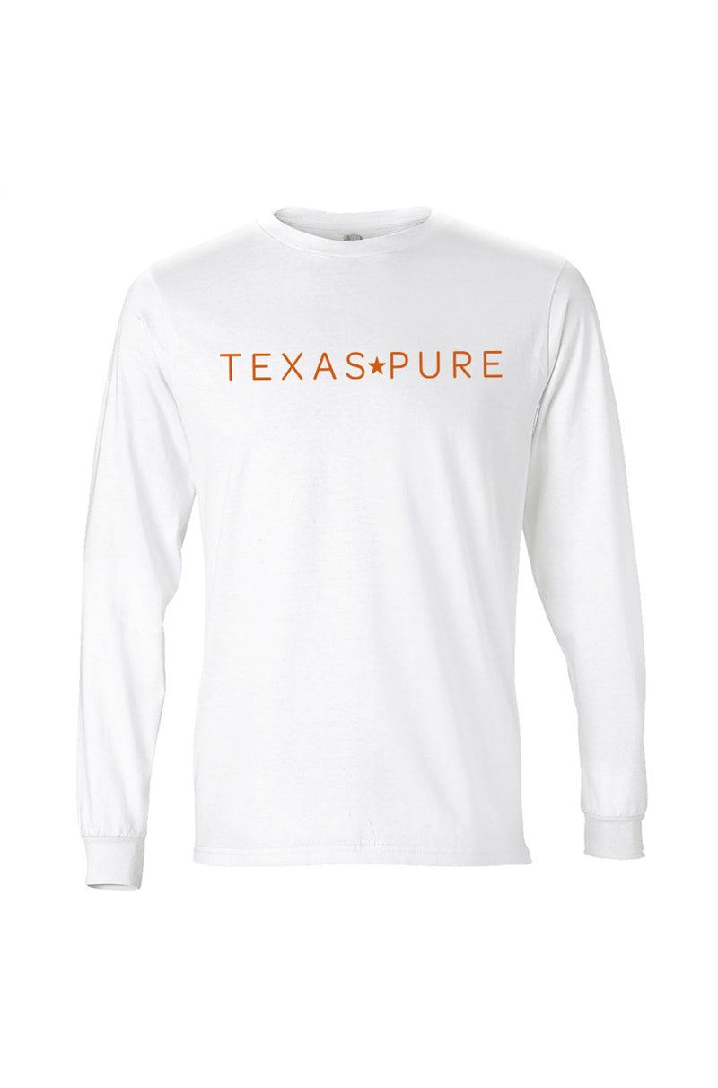 Texas Pure Austin Collegiate Long Sleeve Texas Tee - Texas T-Shirt Front