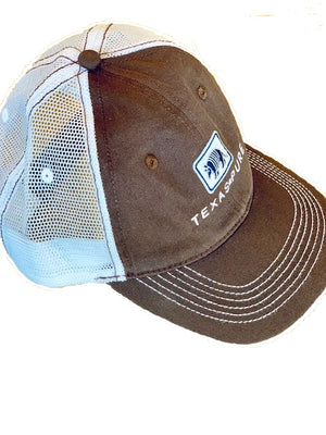Texas Trucker Hat - Brown