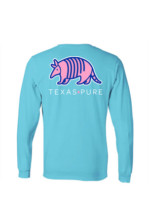 Texas Pure Colorful Armadillo Texas Tee