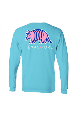 Colorful Armadillo Long Sleeve - Girls