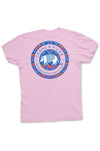 Pink armadillo Texas t-shirt