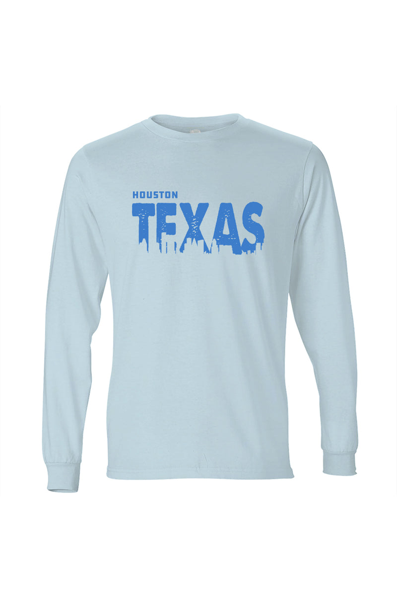 Houston Texas T-Shirt Long Sleeve Women