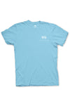 Texas Pure Product Dillo Badge Short Sleeve Texas Tee - Brazos Teal - Front