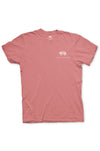 Texas Pure Armadillo Badge T-Shirt - Frio Melon - Front