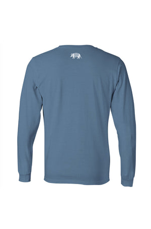 Texas Pure Long Sleeve Logo Tee - Back