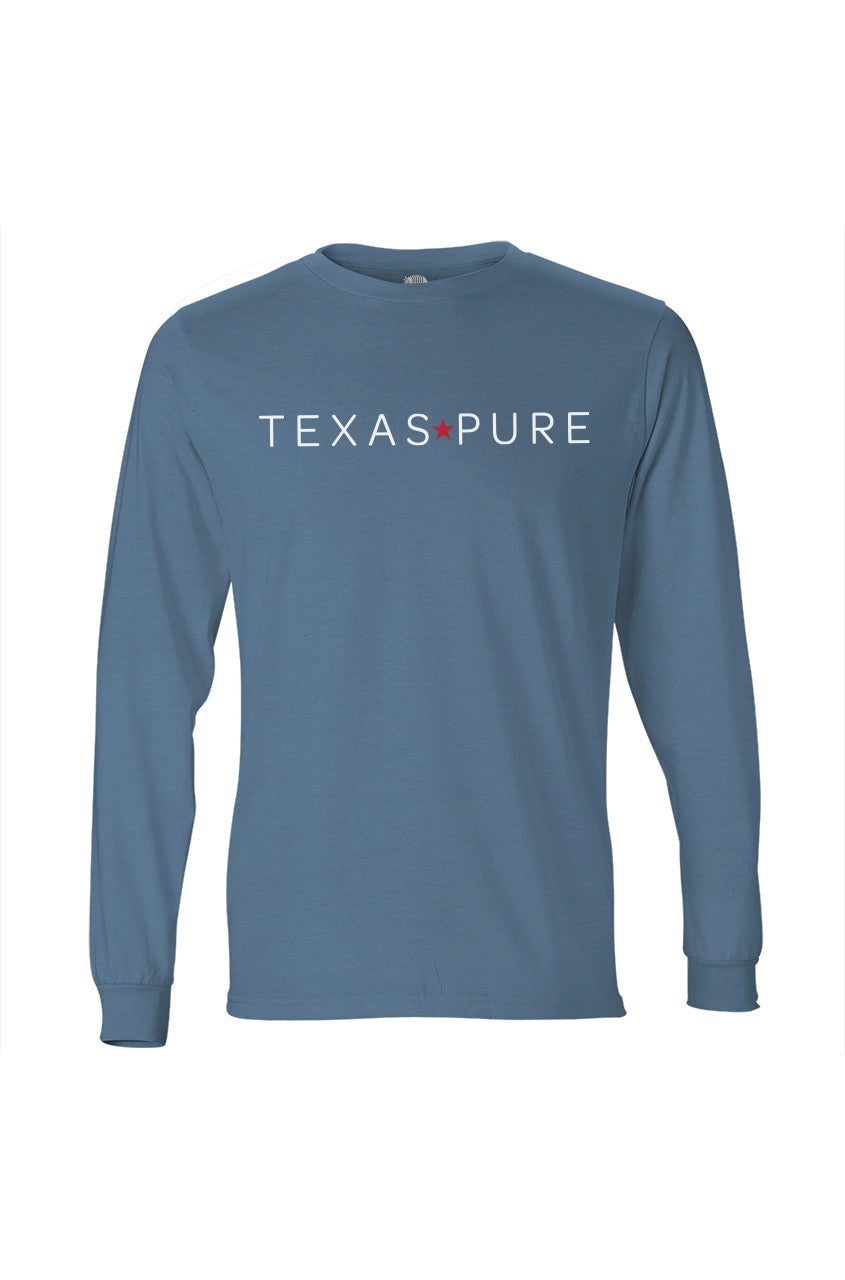 Texas Pure Long Sleeve Logo Tee