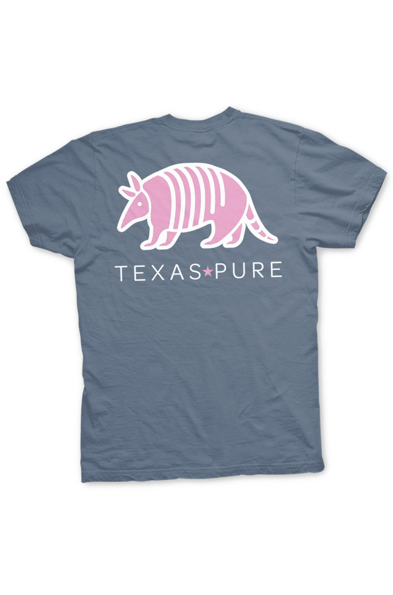 Texas Pure Pink Armadillo Texas Tee