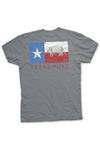 Texas Flag T-Shirt - Dillo Texas Pure Flag Tee