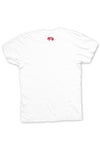 Texas Pure White Logo Tee - Back