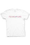 Texas Pure White Logo Tee