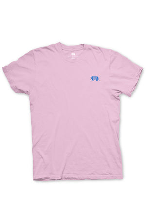 Pink Texas Tee from Texas Pure - Back of Aztec