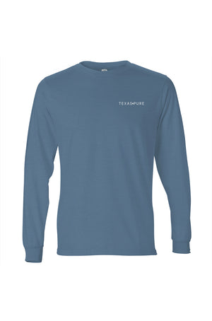 Long Sleeve Texas T-Shirt Blue