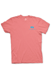 Texas T-Shirt Color Badge Texas Pure - Frio Melon - Front