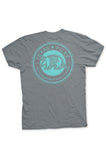 Texas T-Shirt Color Badge Texas Pure - Grey - Back