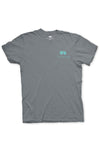 Texas T-Shirt Color Badge Texas Pure - Grey - Front