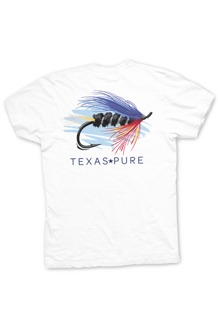 Texas Pure Fly Fishing Texas Tee - Back