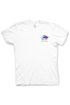 Texas Pure Colorful Fly Fishing Texas T-shirt - Front
