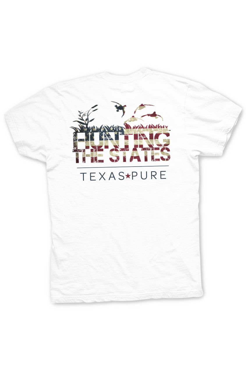Texas T-shirt - Hunting the States - Back