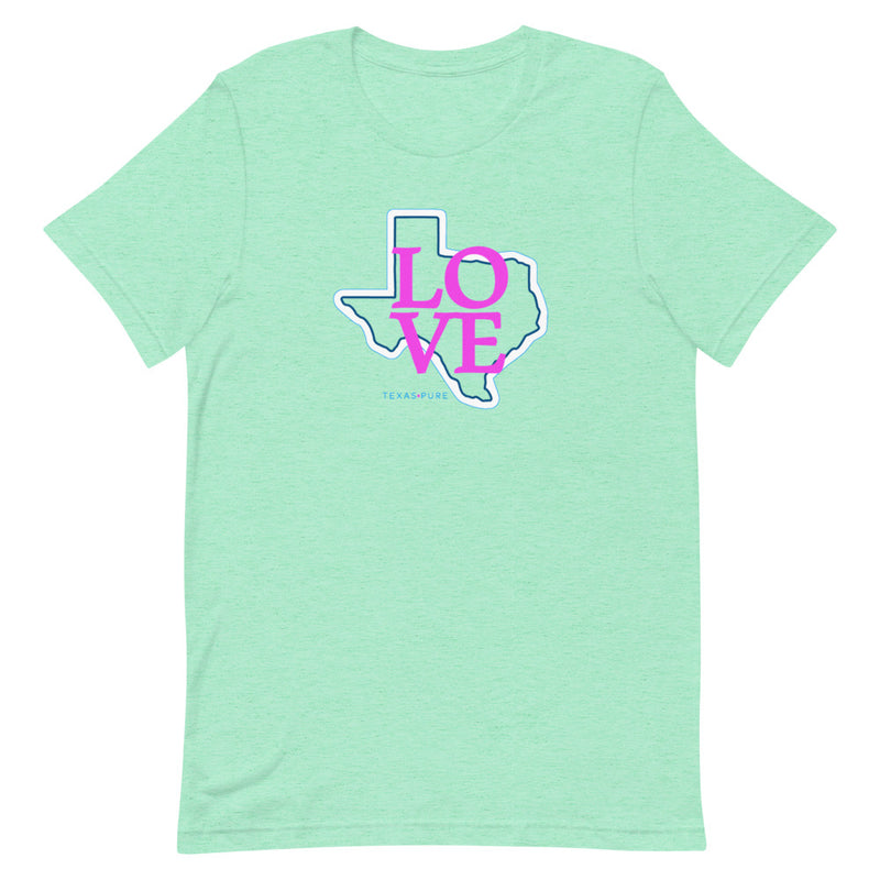 Love Texas Short-Sleeve T-Shirt