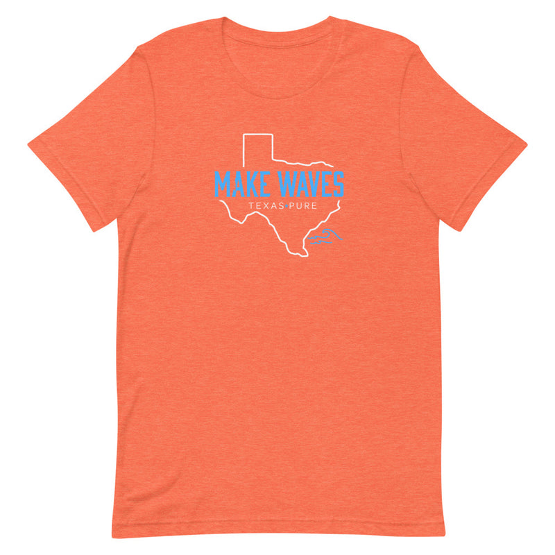 Make Waves Texas (Light Blue) T-Shirt