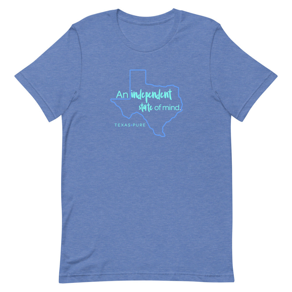 An Independent State of Mind Texas Tee